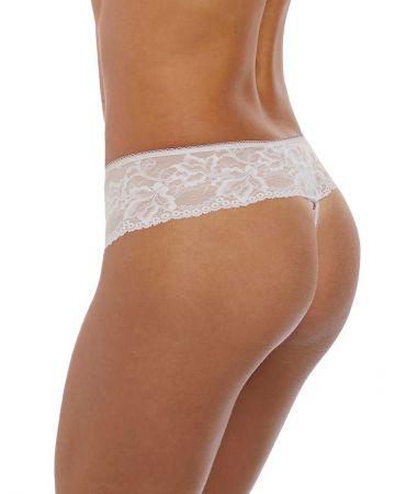 Lena string-trusse, hvid