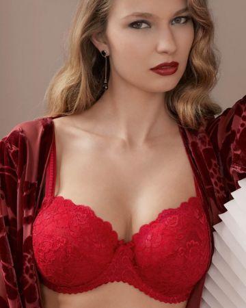Couture bh D-J Skål, red kiss