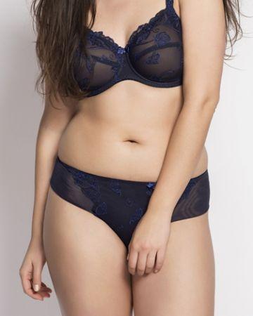 Carla string-panty, nightblue