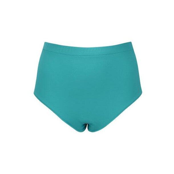 Essentials Aqua classic højtaljet bikinitrusse