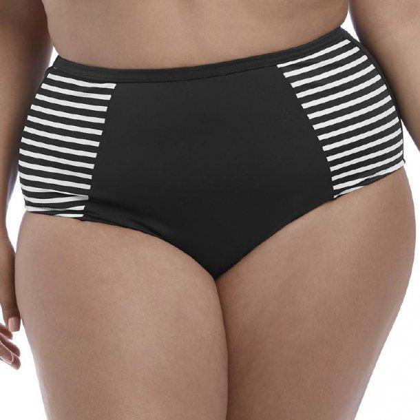 Malibu Days Black højtaljet bikinitrusse