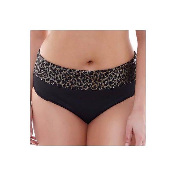Wild Thing Black fold-ned bikinitrusse