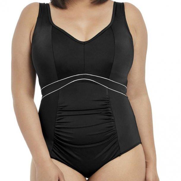 Essentials Black shapewear badedragt