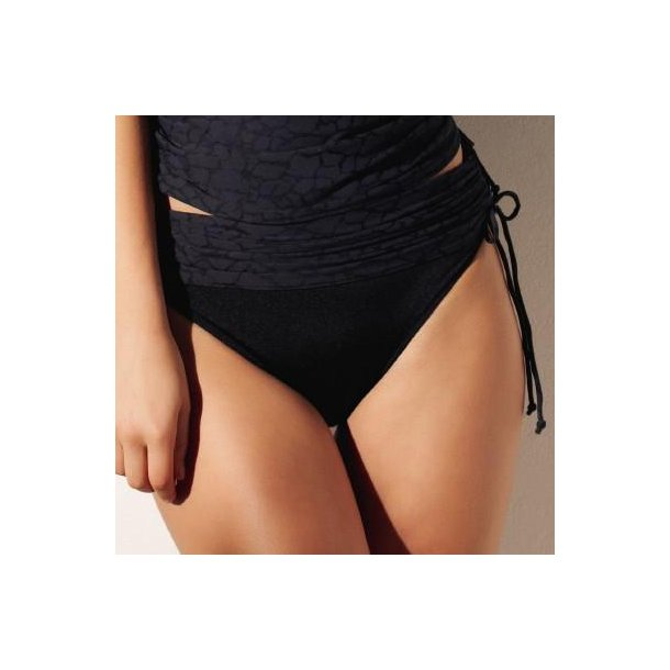 Montreal Black fold-ned justerbar bikinitrusse