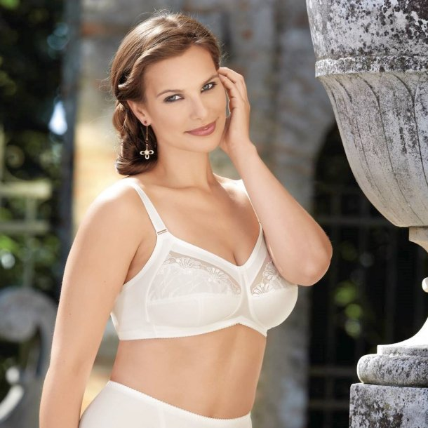 Safina Comfort bra, crystal