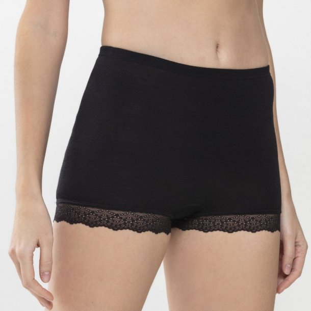 Silk Touch Panty, sort