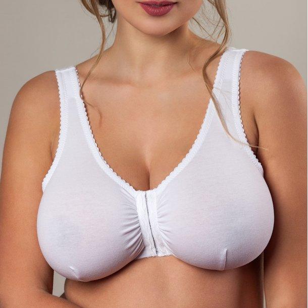 Unique Front Close Bra, hvid